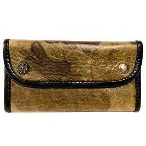 Unbranded Camouflage Leather Men's Wallet